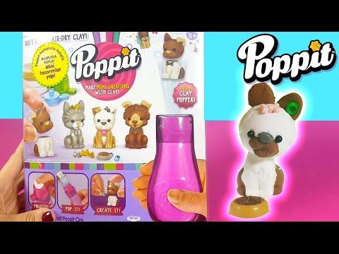 LPS Minişler Nasıl Yapılır | Poppit Puppies Oyun Hamuru Yeni Oyuncak Seti | EvcilikTV