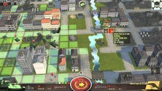 Battle Academy 2: Eastern Front   GamePlay PC 1080p