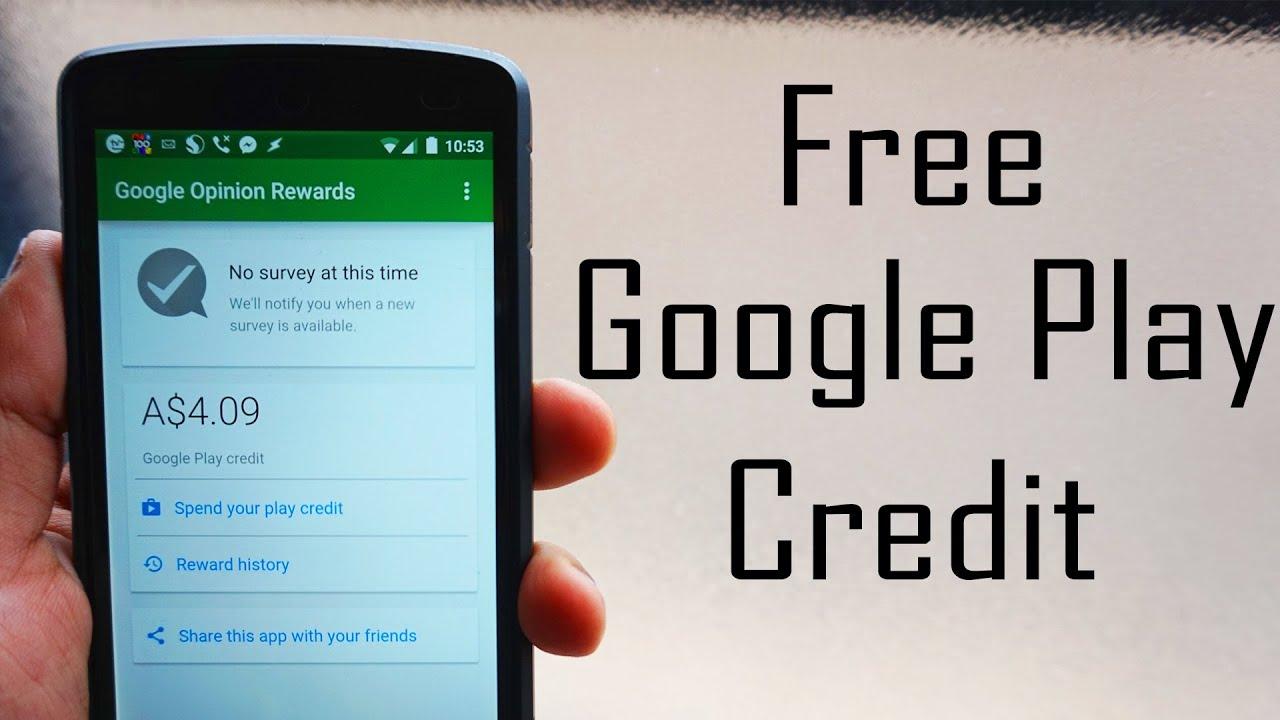 Google Play Guthaben Online