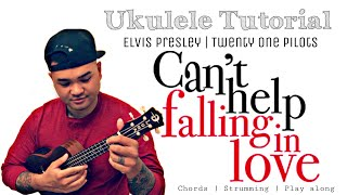 Cant Help Falling in Love Ukulele Tutorial | Elvis Presley Cover | Crazy Rich Asians Soundtrack