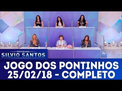 Jogo dos Pontinhos - Completo | Programa Silvio Santos (25/02/18)