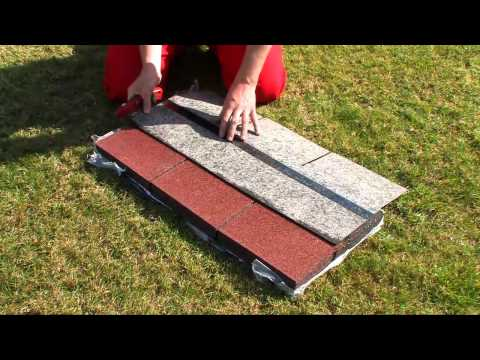 DIY How to apply shingles - Easy Shingle - on your roof (garden shed)