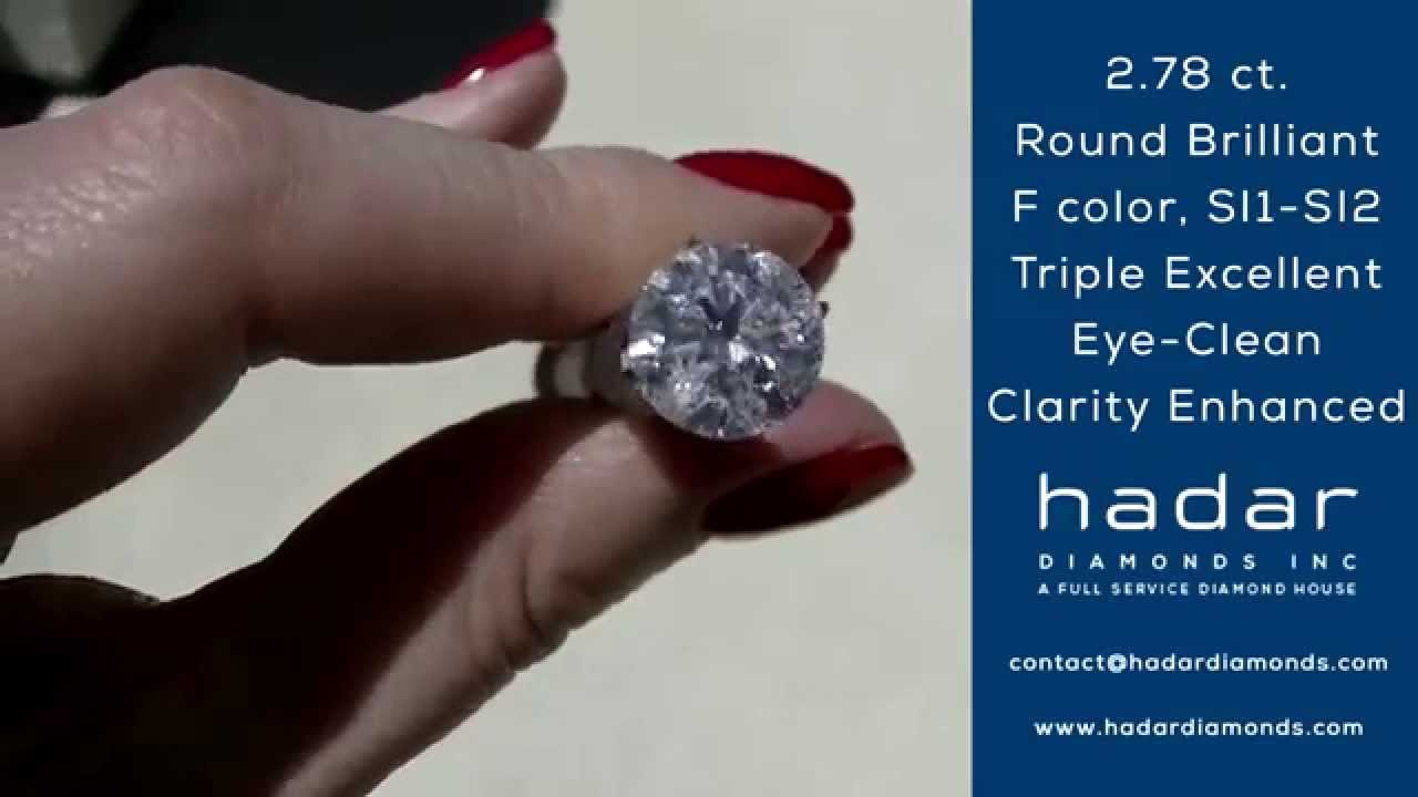 Blog The Top 3 Clarity Enhanced Diamonds For Christmas 2014