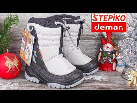 DEMAR Teddy C 4032C - Детские зимние сапоги . Видео обзор от STEPIKO