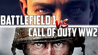 COD WW2 Versus BF1 First 10 Minutes of Campaign | Battlefield VS Call of Duty (WHO WON?)