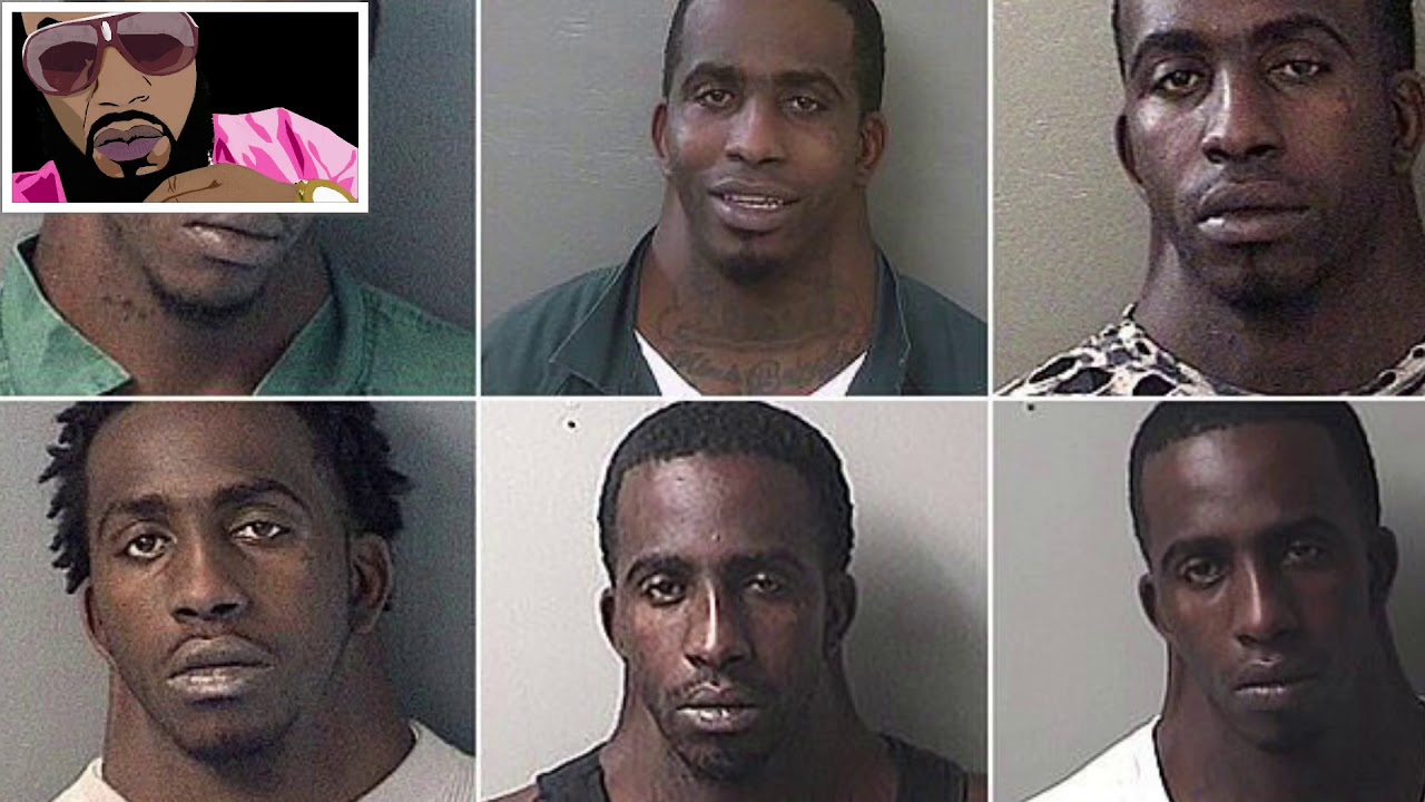 He'll Get Away Neck Time Charles Dion McDowell World's Funniest Mugshot