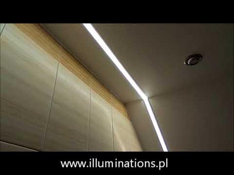 Oświetlenie łazienki Profile Aluminiowe Led