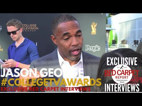 Jason George GreysAnatomy ed at the 38th College Television Awards