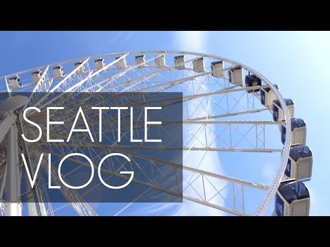 Seattle Vlog: Arrival / Pike Place Market