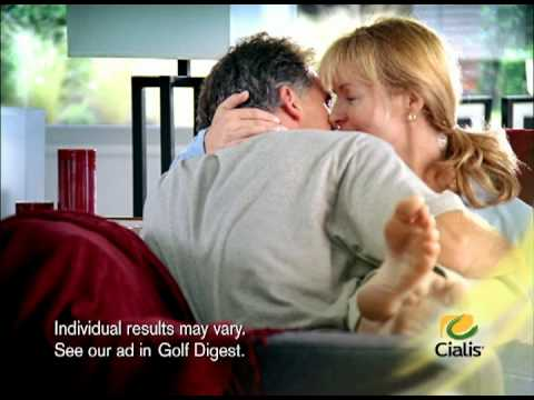 Cialis TV Commercial 2007- Catherine Walker