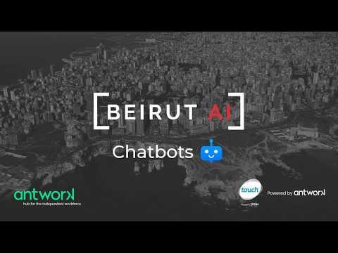 Beirut AI #2 | Let's talk chatbots