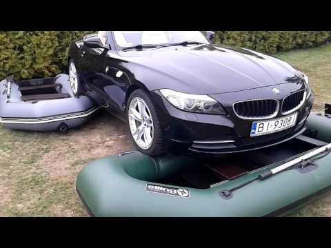 BMW na pontonach ELLING - test wytrzymałościowy