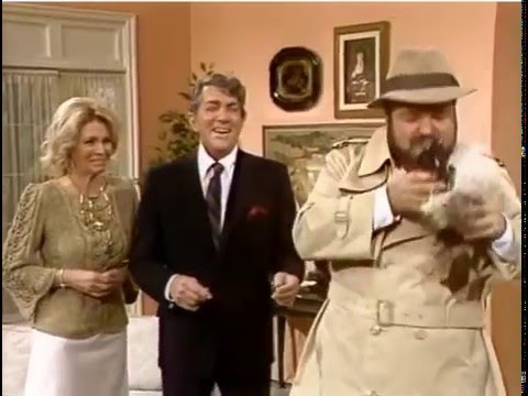 Dom DeLuise and Friends  ~ 1983 ~ Inspector Bawdy ~  Angie Dickinson  ~  Dean Martin