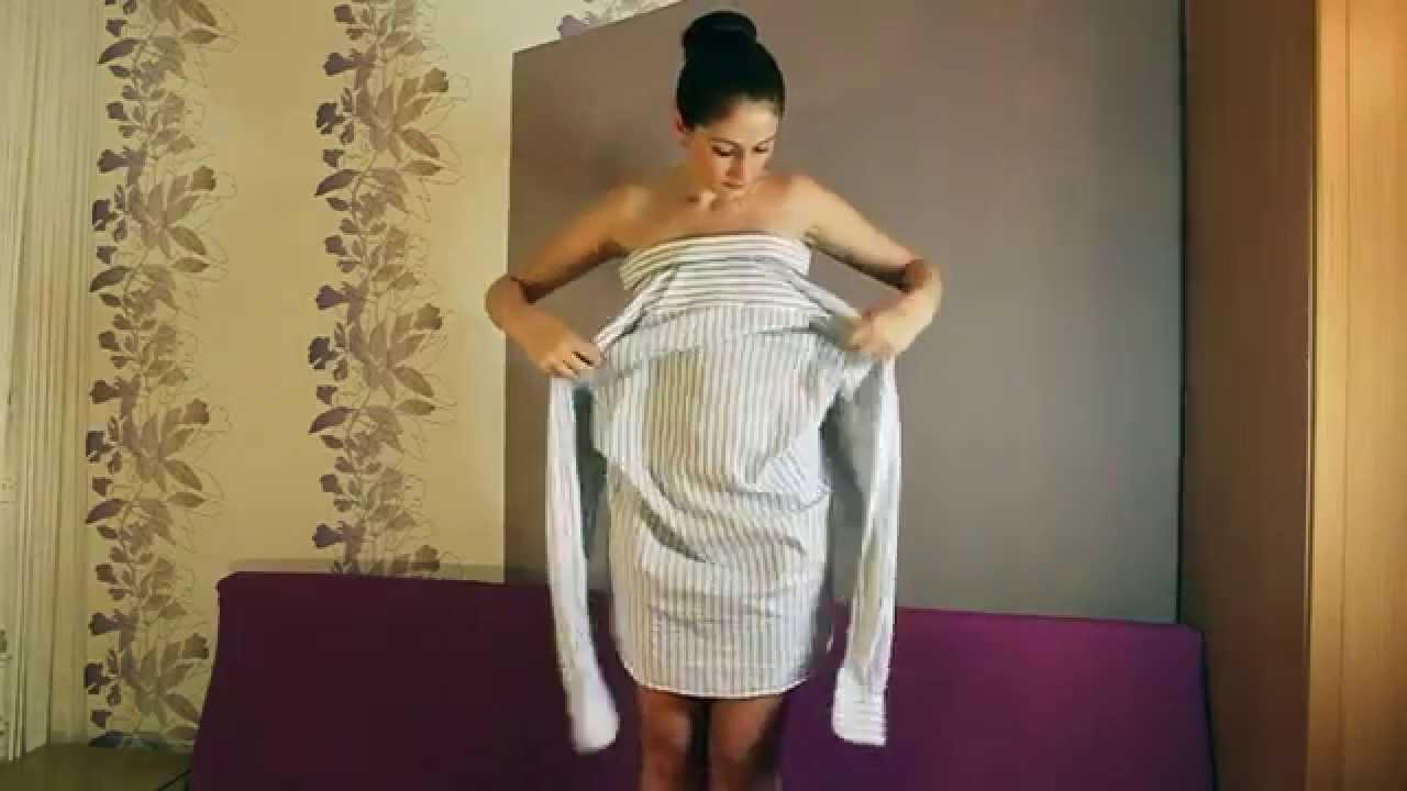 Как зделать платье для себя