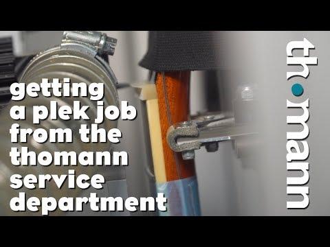 Getting a PLEK job from Thomann - what is plek?