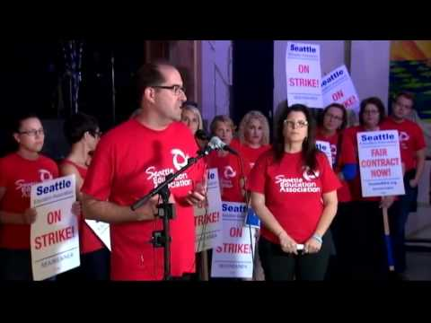 Seattle teachers speak about strike, negotiations   KIRO 7  9 13 15