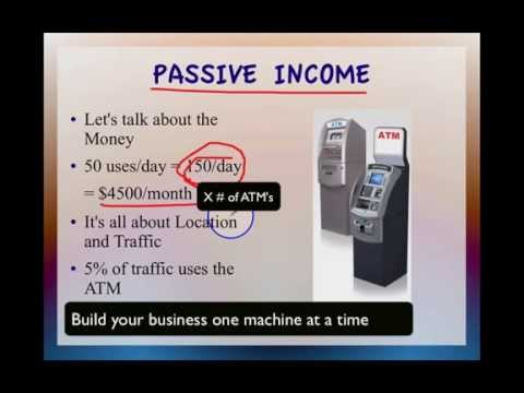 Creating Passive Income with ATM Machines