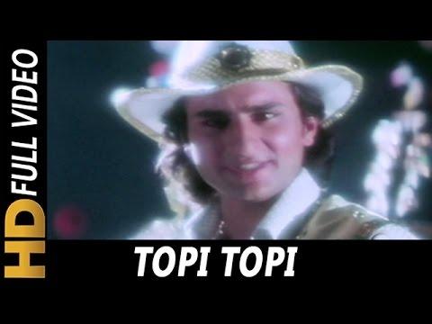 Topi Topi | Abhijeet, Jolly Mukherjee, Poornima | Ek Tha Raja 1996 Songs |  Saif Ali Khan, Shakti
