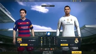 FIFA ONLINE 3 NEW ENGINE FC BARCELONA VS REAL MADRID GAMEPLAY [ROSTER UPDATE 2015+IMPACT ENGINE]]
