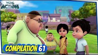 Vir El Robot Boy   Serie De Animación Para Niños   Compilación 61   WowKidz Acción