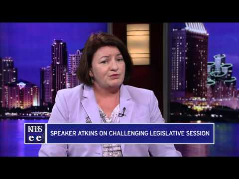 Assembly Speaker Toni Atkins Discusses Challenging Session, Terming Out