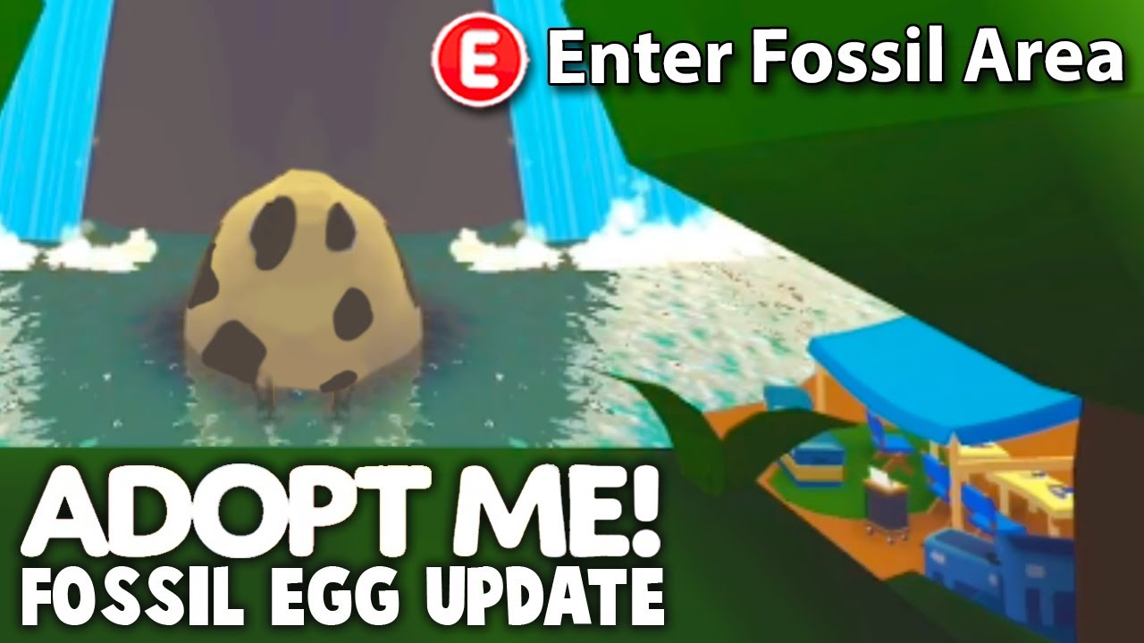 *NEW* Adopt Me Fossil Egg LOCATION CONFIRMED! Adopt Me Fossil Egg Update Release Soon News And Leaks