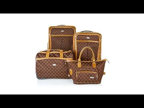 American Flyer Signature Set 4piece Luggage Set