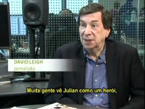 Silio Boccanera entrevista David Leigh um dos autores do livro sobre o WikiLeaks