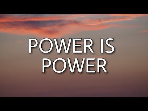 The Weeknd, SZA & Travis Scott - Power Is Power (Lyrics)