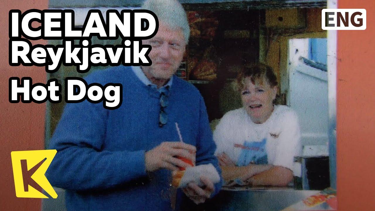 Bill Clinton Hot Dog Reykjavik