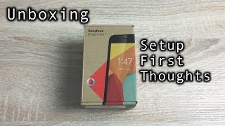 Vodafone Smart Mini 7 Unboxing and Setup