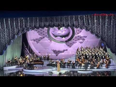Анна Нетребко и Юсиф Эйвазов а юбилейном вечере Игоря Крутого. 16.11.2019