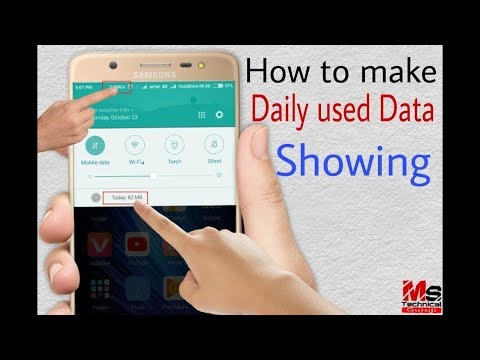 How To Check Data Usage And Internet Speed On Mobile / CHECK YOUR DATA By ''technical Hardik''