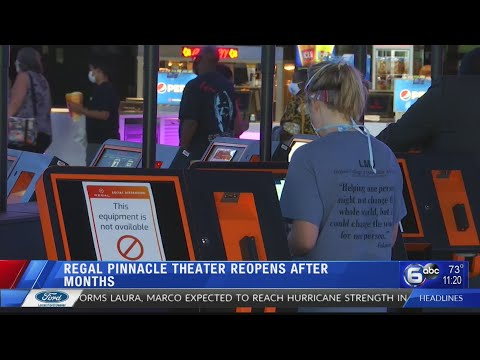 Regal Pinnacle Theater Reopens After Months