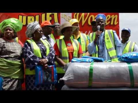Flag Off LLIN Distribution in Ogun State #IWD2014