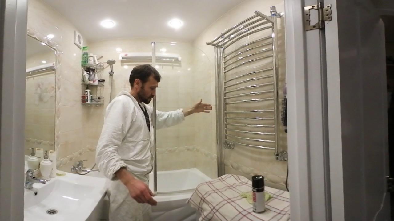 Установка ширмы для ванной своими руками – как правильно .