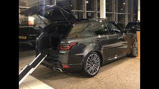 Wild 2019 Range Rover Sport 22' wheels like SVR