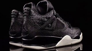 premium selection 30de6 d39a4 The Air Jordan 4 Premium Black Is The Pinnacle Of Style (And Price)