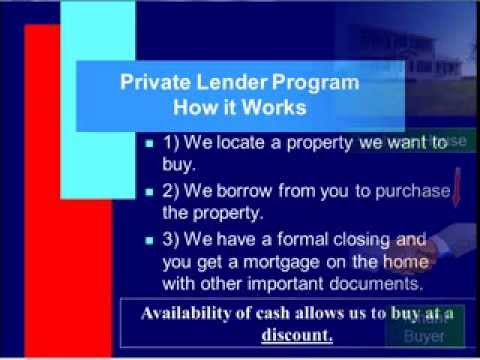 Become The Bank: Private Lending In Real Estate
