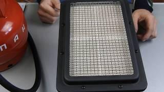 Инфракрасная газовая горелка 3,6 кВт