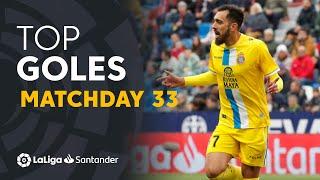 Todos los goles de la jornada 33 de LaLiga Santander 2018/2019