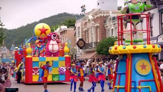 香港迪士尼樂園 - Pixar水花大街派對!