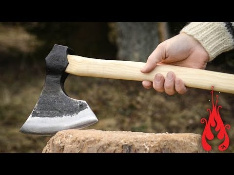 Blacksmithing - Forging a bearded axe