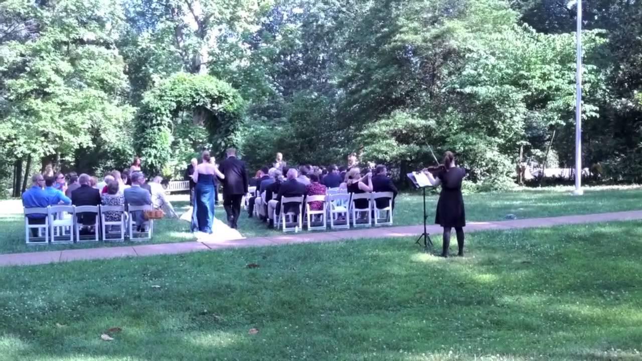 Solo Violin For Outdoor Wedding Ceremonies