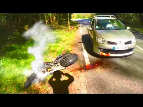 ROAD RAGE & CRAZY Drivers Vs Biker | Motorcycle Mishaps \ MOTO Fails 2018 [Ep #68]
