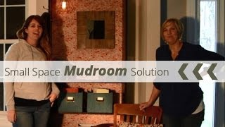 Diy Small Space Mudroom Solution - Keep Your Apartment Clean!