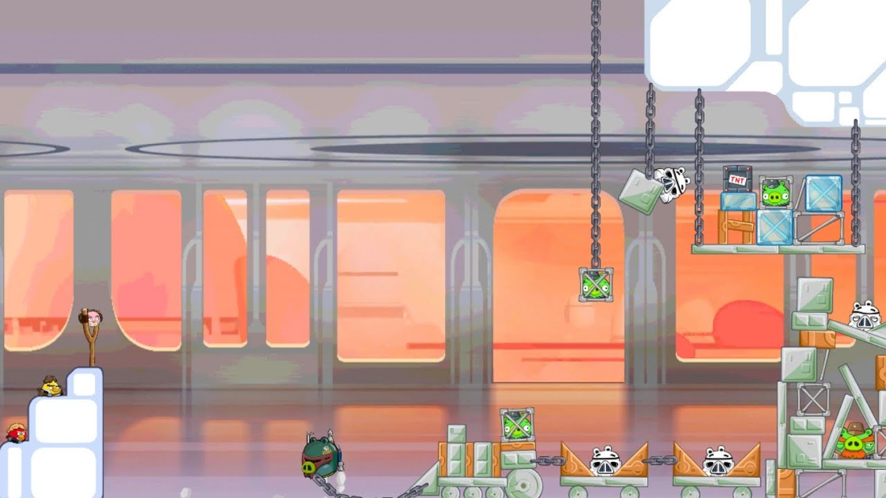 Angry Birds Star Wars - Boba Fett Missions, part 2