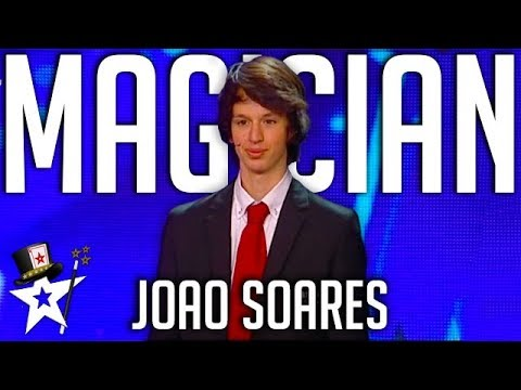 Young Magician Makes A Prediction on Portugal's Got Talent | Magicians Got Talent
