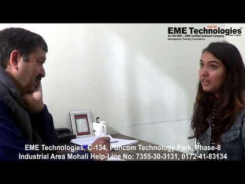 CGC Landran Student HR Interview - Technical Interview | EME Technologies