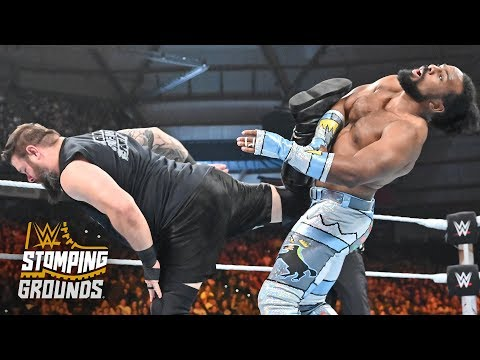 Kevin Owens drills New Day with a barrage of superkicks: WWE Stomping Grounds (WWE Network)